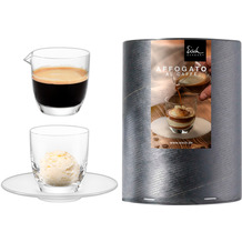 Eisch Kaffe + Tee Affogato al caffè 109/5 + Kännchen i.Geschenkröhre
