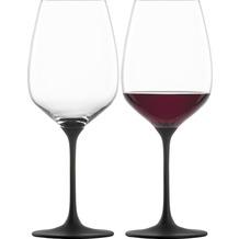Eisch Kaya Rotweinglas 500/2 black - 2 Stück i.Geschenkkarton