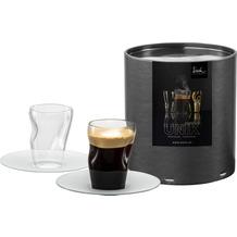 Eisch Unik Espressoglas 132/8 satin mit Untertasse 2 Stk.i.GR