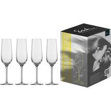 Eisch Vinezza Sektglas 550/7 - 4 Stück im Geschenkkarton