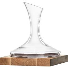 Eisch Wood Edition Dekantierkaraffe 728/1.5 ND auf Holzsockel