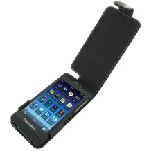 Eixo Ledertasche Flip für Blackberry Z10