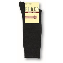 ELBEO Kniestrumpf Wool Damen grau meliert 35-38
