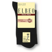 ELBEO Sensitive Classic Wool w schwarz 35-38