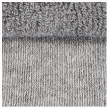 ELBEO Socke Damen mit ABS-Print grau melange 35-38
