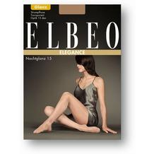 ELBEO Strumpfhose 15 Nachtglanz schwarz 38-40