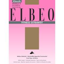 ELBEO Strumpfhose Extraweit Fitness gobi 43-45