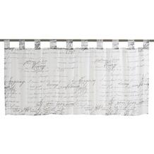 Elbersdrucke Bistrogardine Loveletter schwarz - weiß