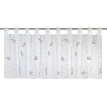 Elbersdrucke Bistrogardine Salon 06 weiß-braun 140 x 48 cm