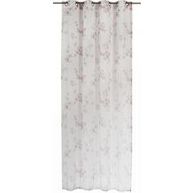 Elbersdrucke Gardine Kyoto beige - weiß