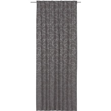 Elbersdrucke Gardine Swirl 16 taupe 140 x 255 cm