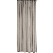 Elbersdrucke Gardine Unisono braun 140 x 255 cm