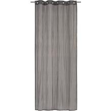 Elbersdrucke Ösenschal Nomadi grau-silber-schwarz 135 x 255 cm