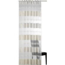 Elbersdrucke Schlaufenbandschal Dacapo Stripe 00 offwhite-ecru 140 x 255 cm