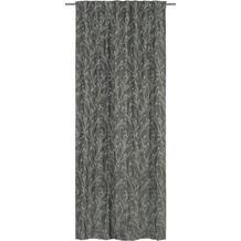 Elbersdrucke Schlaufenbandschal Secret Garden grau-silber-schwarz 135 x 255 cm
