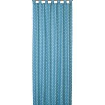 Elbersdrucke Schlaufenschal Dots 01 türkis 140 x 255 cm