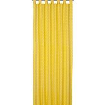 Elbersdrucke Schlaufenschal Dots 02 gelb 140 x 255 cm