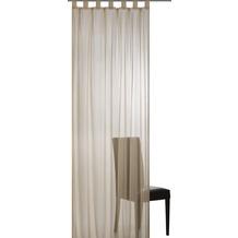 Elbersdrucke Schlaufenschal Plana 19 dunkelbeige 140 x 255 cm