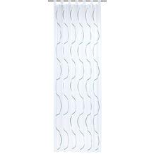 Elbersdrucke Schlaufenschal Serpentine 01 blau 140 x 255 cm