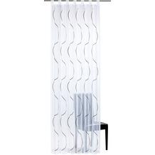 Elbersdrucke Schlaufenschal Serpentine 07 grau 140 x 255 cm