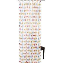 Elbersdrucke Schlaufenschal Sheep 04 weiß-bunt 140 x 255 cm