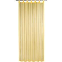 Elbersdrucke Schlaufenschal Streifenvoile gelb 140 x 255 cm