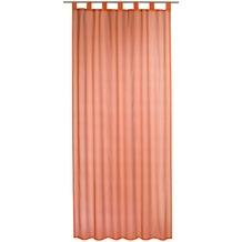 Elbersdrucke Schlaufenschal Streifenvoile terra 140 x 245 cm