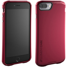 Element Case Aura for iPhone 7/8 Plus rot