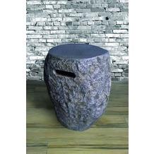 Elementi Abdeckung für Gasflaschen, Naturstein-Optik Faser-Beton, für 11kg Gasbehälter