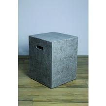 Elementi Abdeckung für Gasflaschen, Travertin-Optik Faser-Beton, für 5kg Gasbehälter