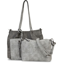 Emily & Noah Shopper Bag in Bag Surprise darkgrey/grey 848 One Size