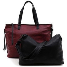 Emily & Noah Shopper Bag in Bag Surprise wine black 691 One Size