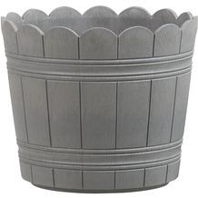 emsa Blumenkübel COUNTRY, Grau, Ø 30 cm