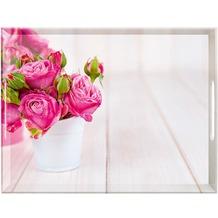 emsa CLASSIC Tablett Pink Roses 50x37 cm