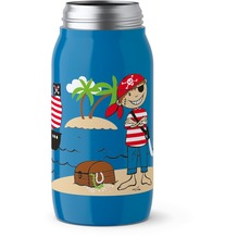 emsa DRINK2GO ISO2GO Isolier-Trinkflasche, Pirate, 0,35 L