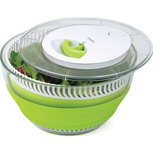 emsa Smart Kitchen Falt-Salatschleuder, grün-transparent