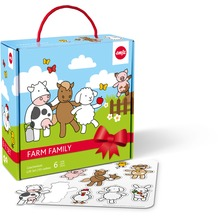 emsa Farm Family Kindergeschirr Starter-Set, 6-teilig