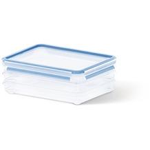 emsa Frischhaltedose CLIP & CLOSE Aufschnittbox, rechteckig, 3x 1,00 Liter