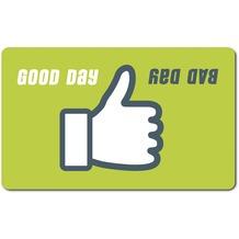 emsa Frühstücksbrettchen CLASSIC Brettchen, Good Day / Bad Day, 23,50 x 14,50 cm