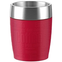 emsa Isolierbecher TRAVEL CUP Rot 0,20 Liter