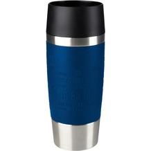 emsa Isolierbecher TRAVEL MUG Manschette, blau, 0,36 Liter