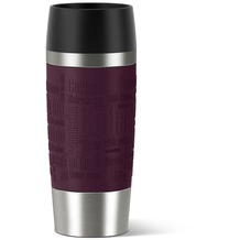 emsa Isolierbecher TRAVEL MUG Manschette, brombeer, 0,36 Liter