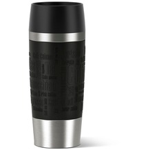 emsa Isolierbecher TRAVEL MUG Manschette, schwarz, 0,36 Liter