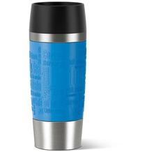 emsa Isolierbecher TRAVEL MUG Manschette wasserblau 0,36 Liter