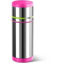 emsa Isolierflasche MOBILITY Kids, Pink-Grün, 0,35 Liter