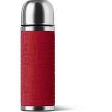 emsa Isolierflasche SENATOR Manschette, Rot, 0,50 Liter