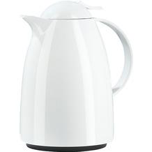 emsa Isolierkanne AUBERGE Quick Tip, Weiß, 1,00 Liter