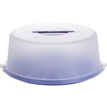 emsa Kuchenbutler BASIC Tortenbutler, Ø 33 cm, Blau-Transluzent