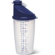 emsa Mixbecher mit Ausgussdeckel SUPERLINE, Blau, 0,50 Liter