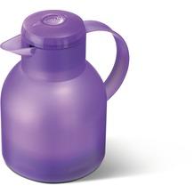 emsa Isolierkanne SAMBA, Transluzent Lavendel, 1,00 Liter, QuickPress